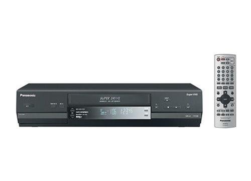 Panasonic NV-SV 121 EG-K S-VHS-Videorecorder schwarz
