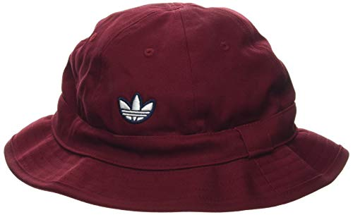 adidas Samstag Bucket Hat, Unisex Adulto, Collegiate Burgundy/White, OSFC