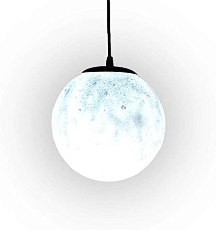 ZHAO YING Einfache Moonlight Kinderzimmer Mond Kreative Persnlichkeit Einzigen Kopf Planeten Licht Schlafzimmer Wohnzimmer Esszimmer Licht (Farbe   Wei)