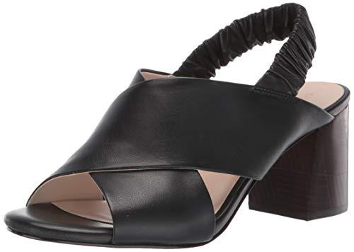 Cole Haan Women's Anastasia City Sandal (65MM), Black Leather, 8 B US