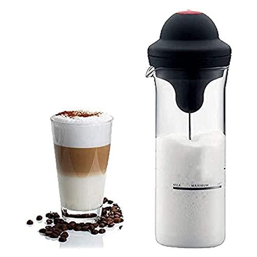 Leche Frother Foamer Electric Foamer Fabricante Mildeo Shake Mixer Batería Milk Frother Jajg Cup para el hogar Oficina Viaje Nevera Plantas Fabricante de café Flores Frigorífico