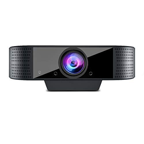 MHDYT Webcam PC con Microfono HD 1080p Portatile Webcam USB per PC Fisso,Notebook y Mac USB 2.0 Videocamera per Videochiamate,Studio, Conferenza, Registrazione, Gioca a Giochi e Lavoro a Casa
