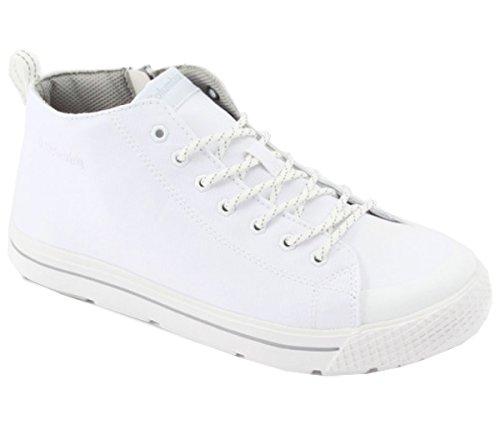 [コロンビア] レインスニーカー ホーソンレインウォータープルーフ YU3941 (6(24cm), 100:White)