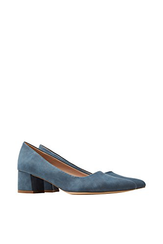 ESPRIT, Damen - Pumps- Laurel, 018EK1W011-400 (37 EU, blau)