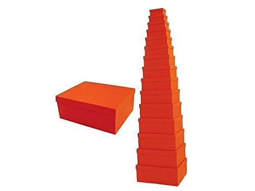 PRG Caja portaobjetos tamaño 15 color naranja