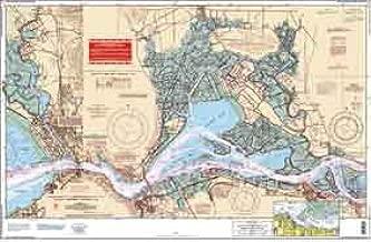 Waterproof Charts, Standard Navigation, 79 San Joaquin River and Delta