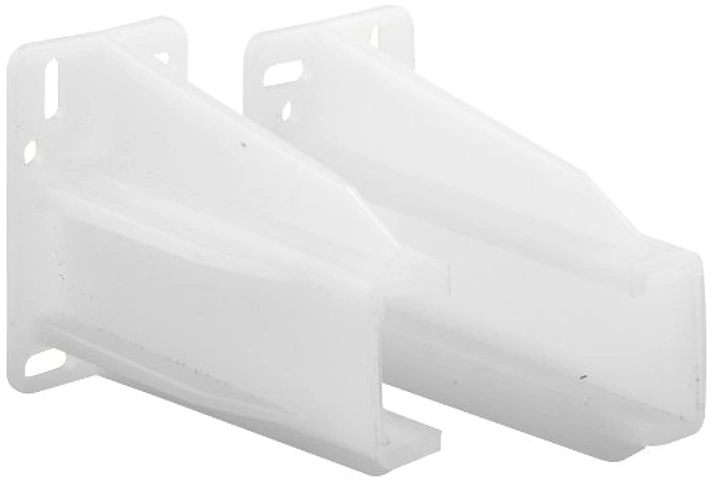 Prime-Line R 7227 Rear Drawer Track Socket, Nylon, White