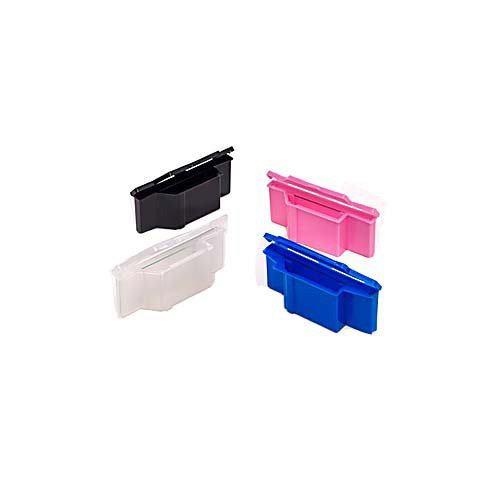 Evergreen 240-3800-R30 Polypropylen Slide Sette Saver, rot (100 Stück)