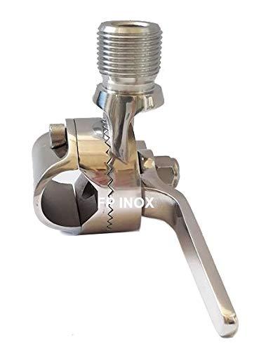 Supporto per base antenna filetto maschio in acciaio inossidabile 316 Supporto per base marina per antenna Base per antenna Accessori per barche supporto per base rotonda per antenna