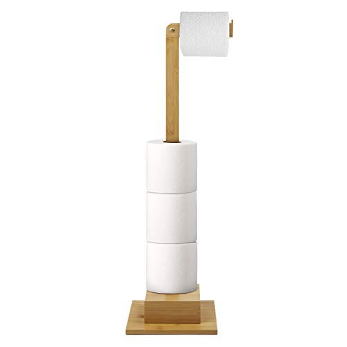 Top 10 best selling list for bamboo freestanding toilet paper holder