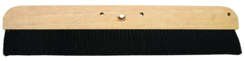 MARSHALLTOWN Concrete Broom 36' Natural Horsehair Wood Block