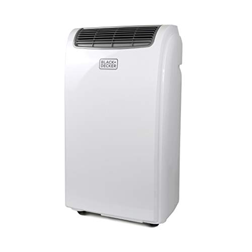 BLACK+DECKER BPACT10WT Portable Air Conditioner, 5,500 BTU DOE (10,000 BTU Ashrae), White