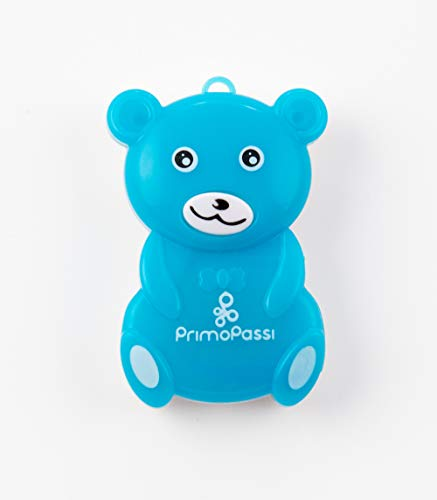 Primo Passi Baby Portable Ultrasonic Clip On Mosquito Repellent I Insect Repeller for Babies, Kids and Adults I Indoor and Outdoor Bug Repeller Best Seller I (Blue)