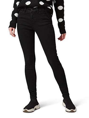 TOM TAILOR Denim Damen Nela Jeans, Schwarz (Black Denim 10240), W25/L34 (Herstellergröße: 25)