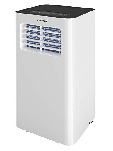 INFINITON Aire Acondicionado PORTATIL PAC-CS75 (1800 Frigorias, A, Display LED, Mando a Distancia, Deshumificador, Temporizador, Incluye Kit de instalación para Ventanas)