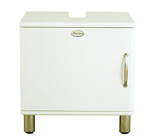 Tenzo 5161-005 Malibu - Designer Unterschrank 60 x 60 x 44 cm, MDF lackiert, weiß