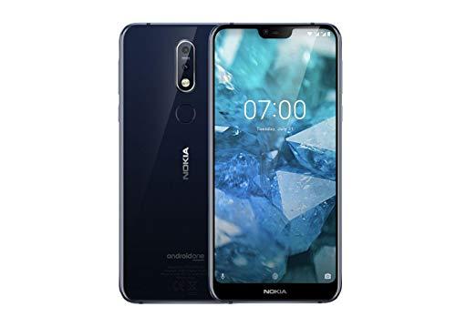 Nokia 7.1 (2018) 32GB blau Dual-SIM Android 8 Smartphone mit ZEISS-Kamera