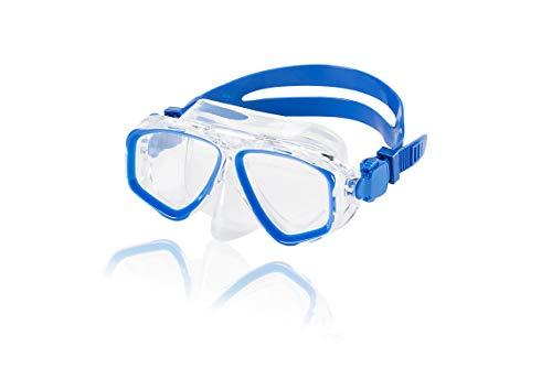 Speedo Junior Recreation Dive Mask, Blue Sea, 1SZ