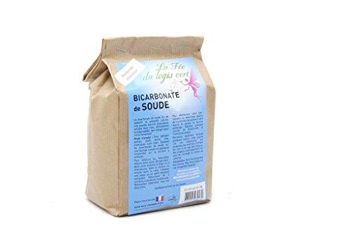 Eco-conseils® - Bicarbonate de Soude Alimentaire de 1kg à 25kg - Emballage 100% écologique (1kg)