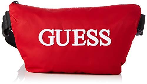 Guess Quarto Bum Bag - Mochila para hombre, color rojo, talla única
