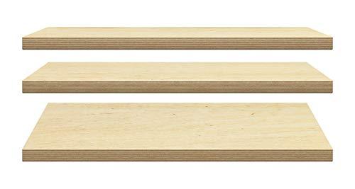 Werkbank Platte 40mm ab 100€/qm Arbeitstisch Multiplexplatte Arbeitsplatte Birke (150 x 70 x 4 cm Multiplex Birke)