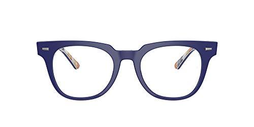 Ray-Ban 0rx5377 Gafas, BLUE ON STRIPES ORANGE/BLUE, 52 Unisex