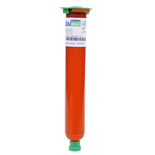 Forspero Tp-2500 50 Ml Uv-Loca-Kleber Flüssiger Optischer Klarer Klebstoffkleber