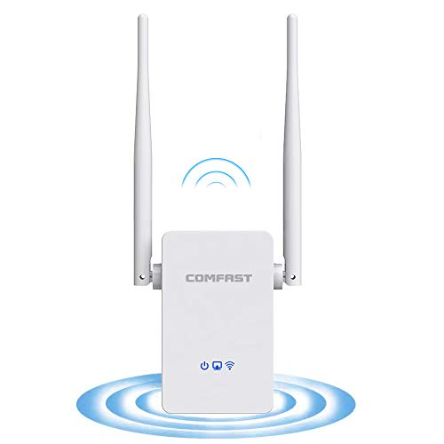COMFAST 300Mbps WiFi Repeater WiFi Extender Booster 2.4GHz Wireless...