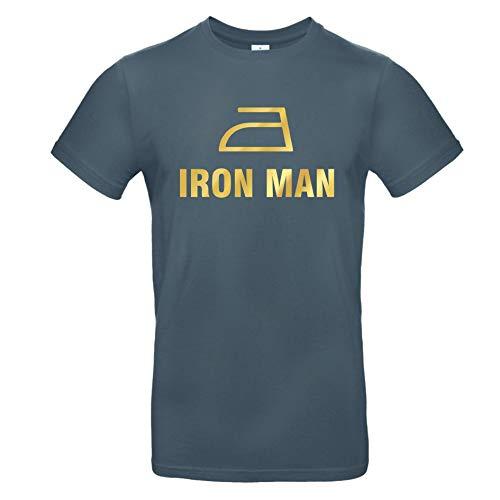 Herren T-Shirt \'IRON MAN\' Baumwolle