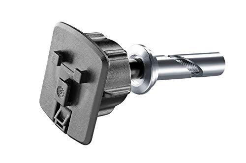 INTERPHONE SMSTEERING15 Support pour Tube de Direction diamètre 15 mm à 17,2 mm pour Les séries d'étuis PROCASE/ICASE/UNICASE, Noir