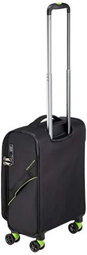 [アメリカンツーリスター]スーツケースキャリーケースアップライトスピナー55/20エキスパンダブルTSA機内持ち込み可保証付38L55cm2kgブラック/グリーン