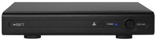 i-Set 810 HD Satellitenreceiver (Multimedia Player, USB 2.0 Schnittstelle) anthrazit