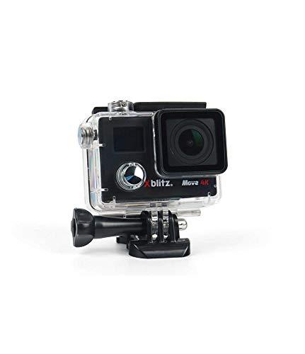 Xblitz Move 4K Sportkamera, 170 Grad, Wasserdichtes Gehäuse, Fernsteuerpilot, Sony IMX078-Sensor, Der Hauptbildschirm 2 Zoll