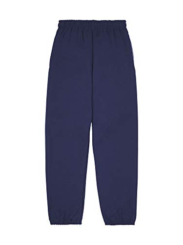 Fruit of the Loom Boys' Fleece Vest & Sweatpants, Sweatpants - Navy, Small