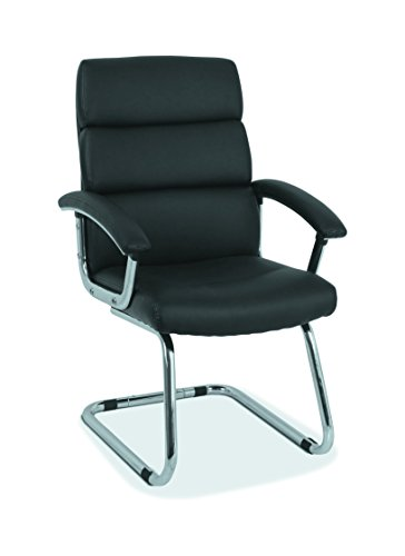 HON Traction Guest Chair With SofThread Leather