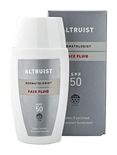 Altruist Dermatologist Sunscreen Fluid Spf50 - Superior 5-Star Uva Protection By Dr Andrew Birnie; Premium Antioxidant Face Protection - 50ml