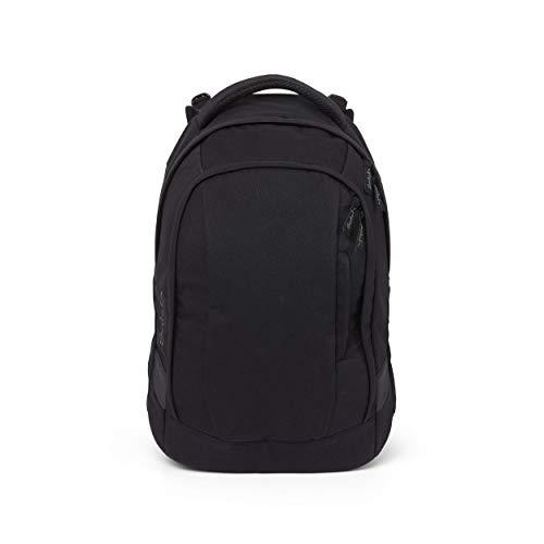 satch Sleek Blackjack, ergonomischer Schulrucksack, 24 Liter, extra schlank, Schwarz