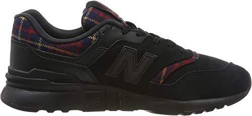 New Balance 997h, Zapatillas Deportivas para Mujer, Negro (Black/Red), 35 EU