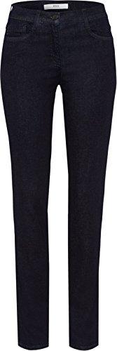 BRAX Damen Style Shakira Skinny Jeans, Blau(CLEAN DARK BLUE), W32/L34 (Herstellergröße: 42L)