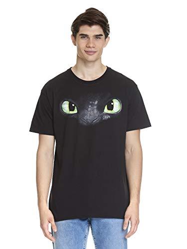 DRACHENZÄHMEN LEICHT GEMACHT Ohnezahn T-Shirt schwarz S