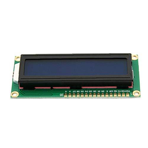 XKJFZ 1602 LCD-Display-Modul Character LCD-Display-Modul Blue Screen mit weißen Buchstaben 8 * 3.6 * 1.2cm Industriegeräte