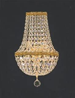 Empire Crystal Wall Sconce Crystal Lighting W 9.5