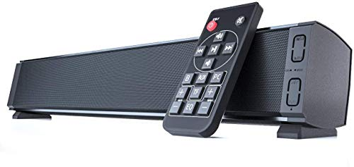Yangers Wireless Bluetooth 5.0 Soundbars Altavoz para TV con control remoto, True...