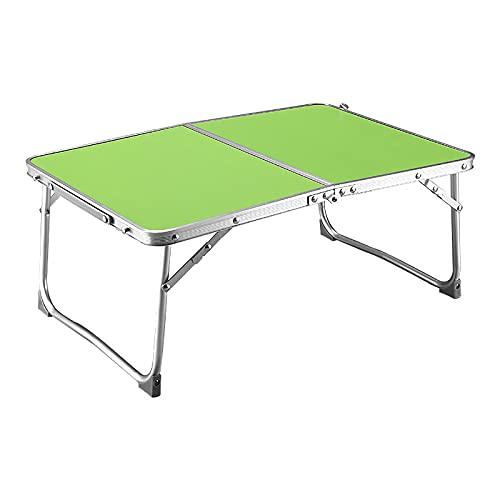 Składany stół, aluminiowy lekki stół piknikowy, na kempingowy bufet weselny koziołek ogrodowy kryty na zewnątrz, 26 * 60 * 40cm,D
