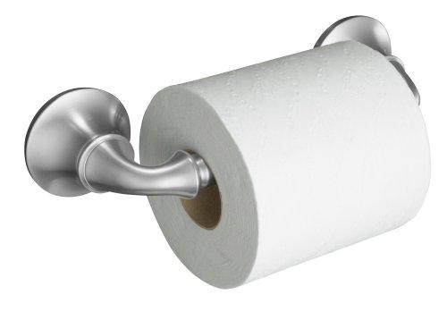 KOHLER K-11374-G Forté Toilet Tissue Holder, Brushed Chrome