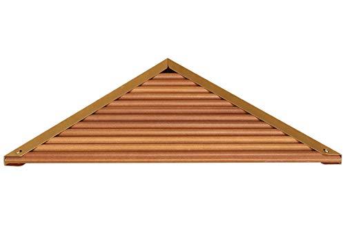 FREEDROM Badezimmer Regal Holz Wasserdicht Dreieck Regal Bad Eckzarge Holz Eckregal Lagerregal Bad Regal