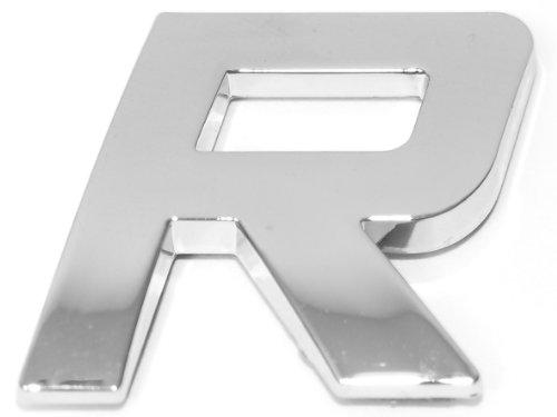 Eufab 30328 3d-letter R Car-logo