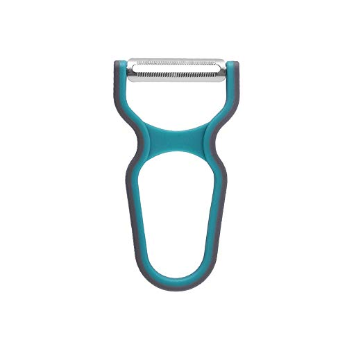 LHTCZZB Gancho portátil Peeling herramienta for pelar Cuchillo pelador Cabeza Accesorios de cocina de acero inoxidable + plástico Máquina Gadgets de cocina adecuados for frutas y hortalizas El