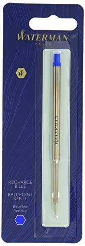 Waterman Ersatzmine (für Kugelschreiber mit feiner Spitze) 1Stück blaue tinte