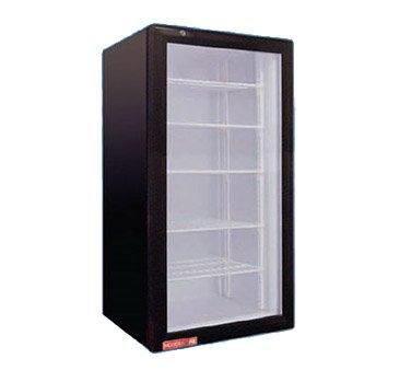 Grindmaster CTR3.75 1 Swing Glass Door Countertop Merchandiser Refrigerator